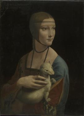 Portrait of Cecilia Gallerani, 1489-90