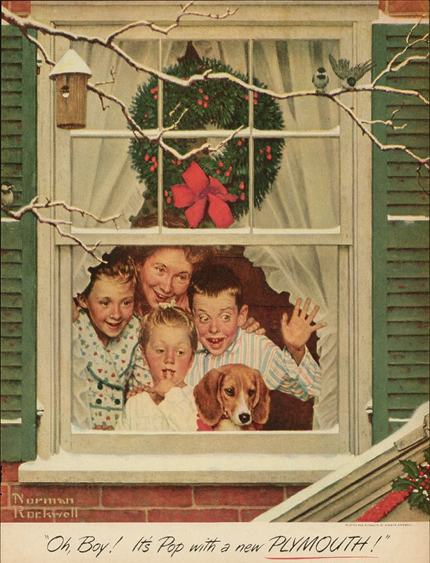 It's a Norman Rockwell Christmas! | the art blot