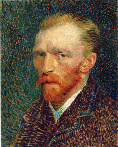 Self Portrait, 1887, oil on artist's board