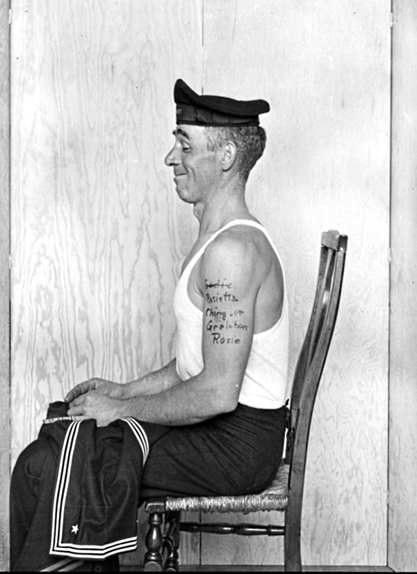 Norman rockwell s photo inspiration the art blot for Norman rockwell tattoo