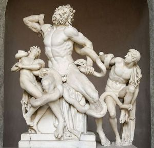 Laocoön and His Sons, and Hagesandros, Athenedoros, and Polydoros
