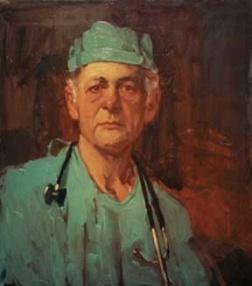 Untitled Doctor Original Illustration, 1989