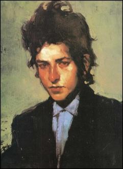 Portrait of Bob Dyan