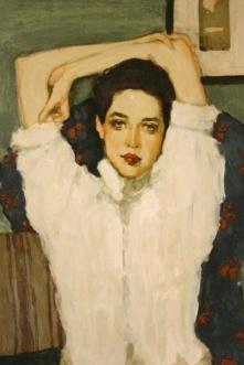 Brunette Girl – Girl In White Blouse, 1953