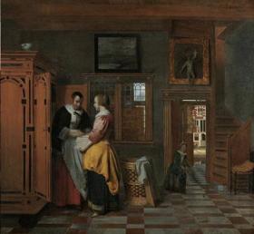 Pieter de Hooch's Linen Closet