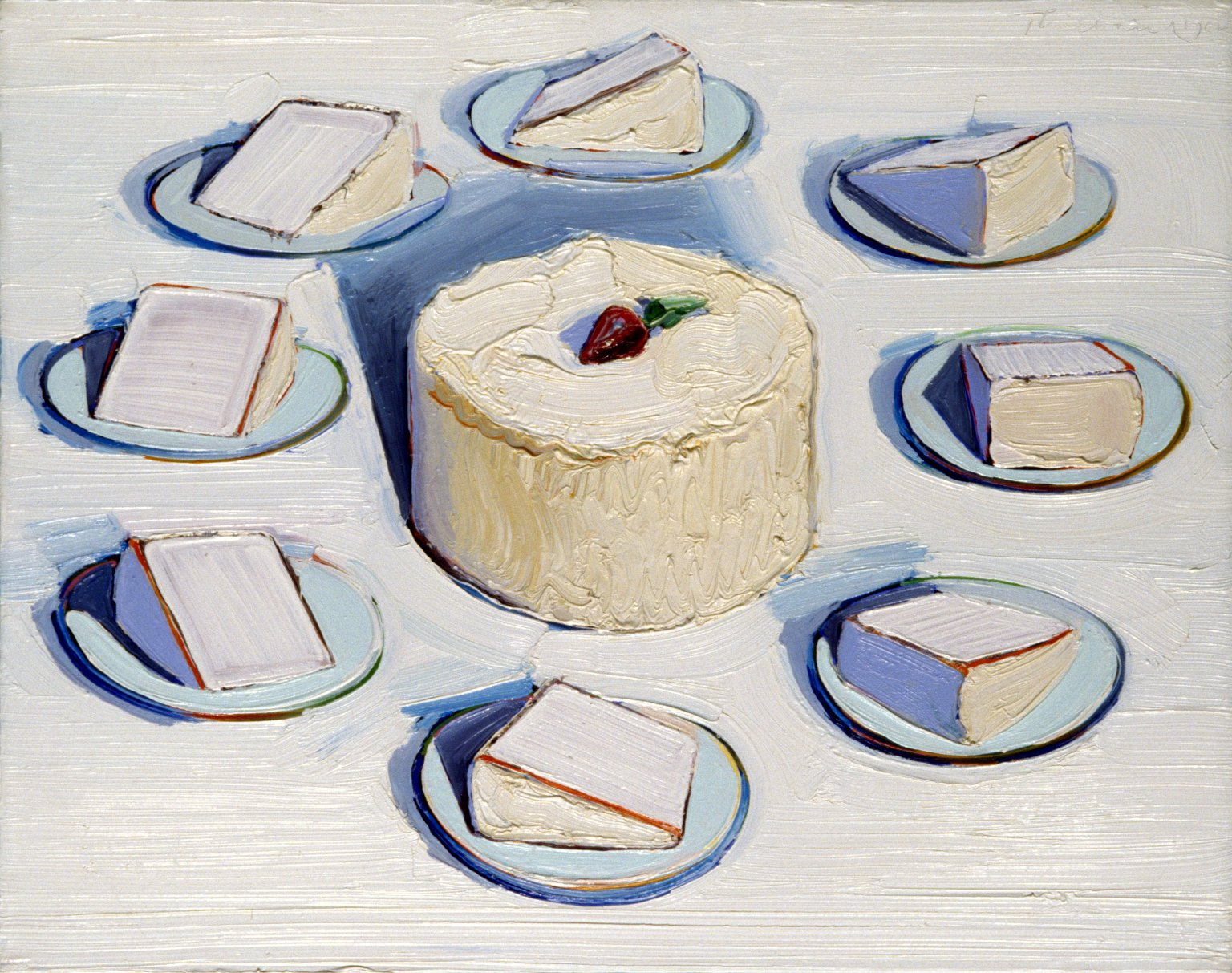 A Fat Tuesday Treat from Wayne Thiebaud the art blot