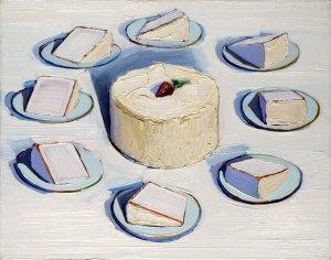 """""""Around the Cake"""" (1962), Wayne Thiebaud"""
