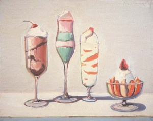 """""""Confections"""" (1962), Wayne Thiebaud"""