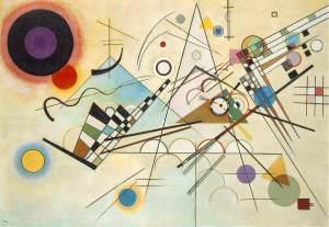 "Wassily Kandinsky. ""Composition VIII""  (1923)"