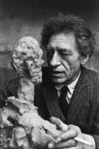 Alberto Giacometti by Henri Cartier-Bresson (1961)