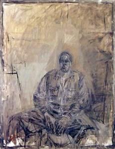 "Alberto Giacometti, ""Portrait of David Sylvester"" 1960 at MoMA"