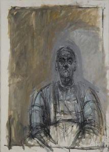 """Alberto Giacometti, """"Rita"""" 1965 Fondation Alberto et Annette Giacometti 1994-0626, © Succession Alberto Giacometti 2013"""