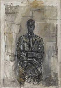 """""""Sir Robert Sainsbury"""" 1958, Fondation Alberto et Annette Giacometti 1994-0640 © Succession Alberto Giacometti 2013"""
