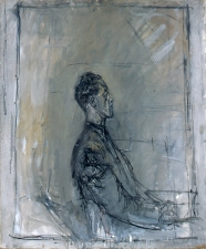 """Yanaihara de profil"", 16 ou 18 octobre 1956 Fondation Alberto et Annette Giacometti, Paris, inv. 1994-0620  © Succession Alberto Giacometti (Fondation Giacometti, Paris + ADAGP, Paris)"