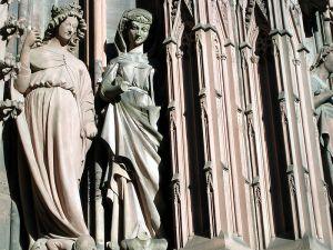 detail from Strasburg, Münster