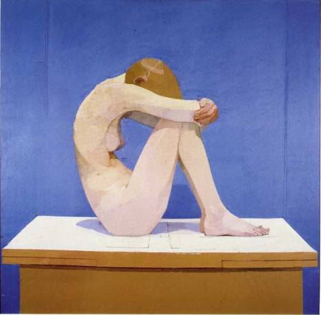 "Euan Uglow, ""Summer Picture"" (1971-2), oil on canvas"