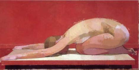 "Euan Uglow, ""The Wave"" (1989-97), oil on canvas"